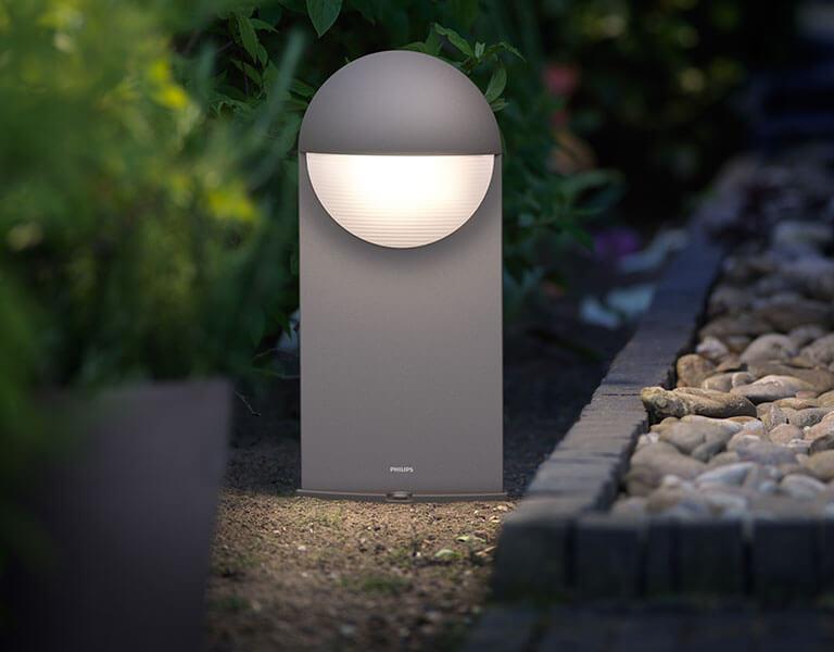 Lampy na cokół