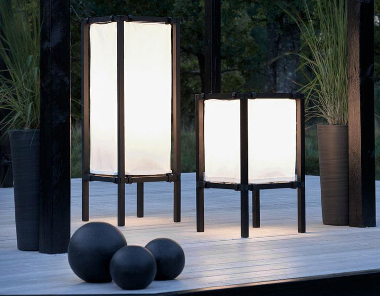 Lampy stojące zewnętrzne