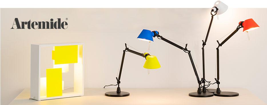 Lampy stołowe marki Artemide