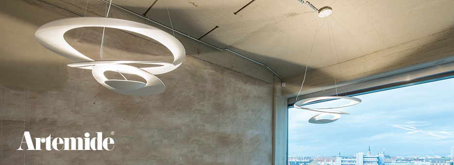 Lampy sufitowe Artemide