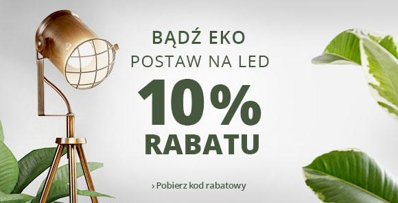 10% rabatu na LED
