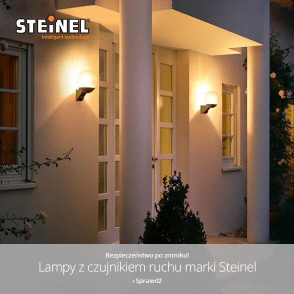 Bezpieczeństwo po zmroku z lampami z czujnikiem ruchu marki Steinel