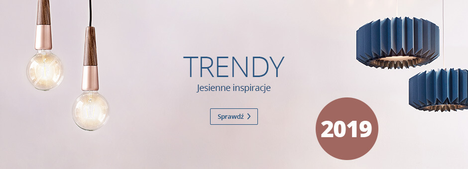 Trendy jesień 2019