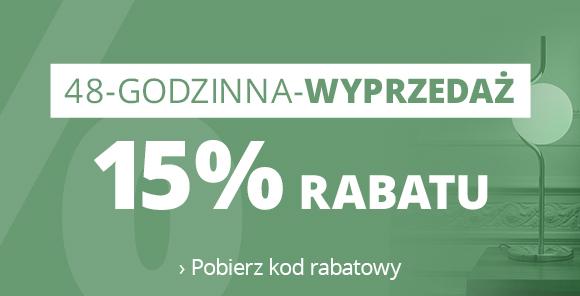 48-Godzinna-Wyprzedaz - 15 % Rabatu