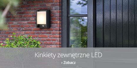 Kinkiety zewnętrzne LED
