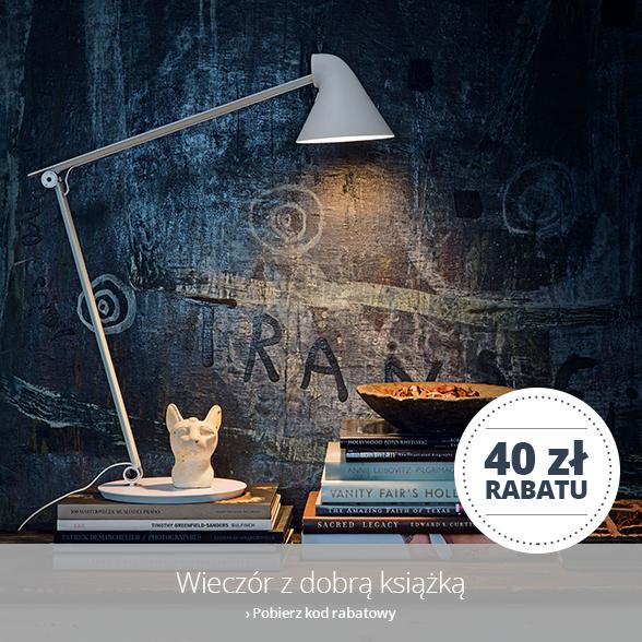 Wieczór z dobrą książką - 40 zł rabatu