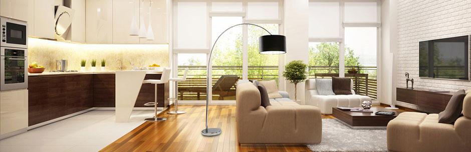 Jeśli pomieszczenia są odpowiednio oświetlone czujemy się znacznie bardziej komfortowo