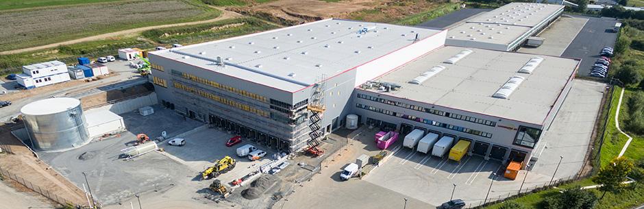 Centrum logistyczne o całkowitej powierzchni 9.500 m²