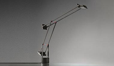 Innowacyjna designerska lampa stołowa Tizio