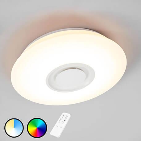 Lampa sufitowa LED RGB Elya z głośnikiem (1558112)