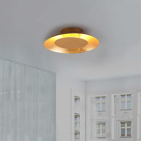 KETI - złota lampa ścienna LED 9625045
