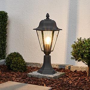 Grafitowa lampa na cokół EDANA (9630062)