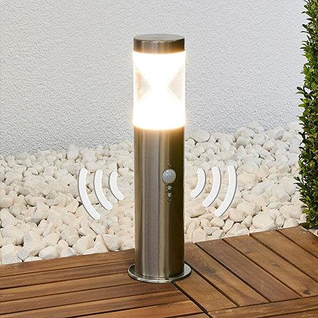 Lampa cokołowa Fabrizio, czujnik ruchu, LED (9988154)
