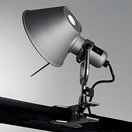 Nowoczesna designerska lampa ścienna Tolomeo Pinza