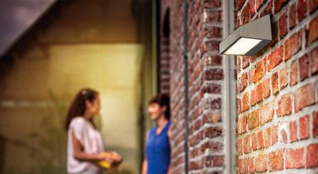 Solarna lampa ścienna na zewn. LED GREENHOUSE