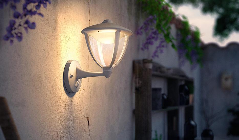 ROBIN - lampa zewnętrzna LED z czujnikiem ruchu