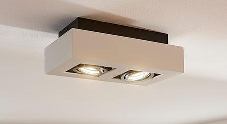 2-punktowy spot LED VINCE, biały