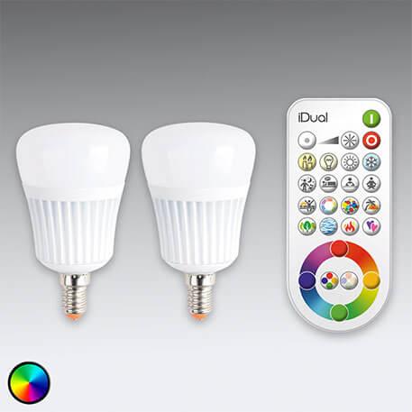 iDual E14 LED x2