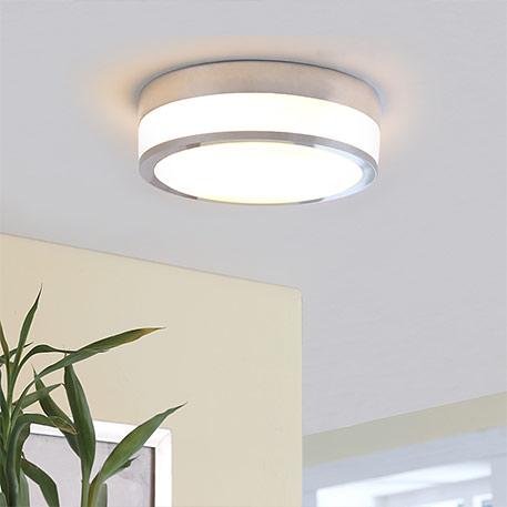 FLAVI - lampa sufitowa do łazienek, chrom