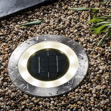 Oprawa podłogowa wpuszczana LED firmy Paulmann Solar Jupiter LED
