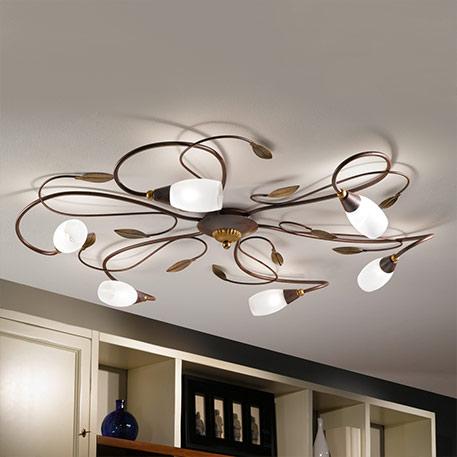 Dworkowe lampy sufitowe