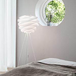 Designerskie lampy stojace