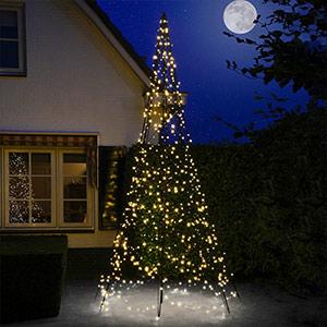 Fairybell® choinka bożonarodzeniowa z masztem, 4 m