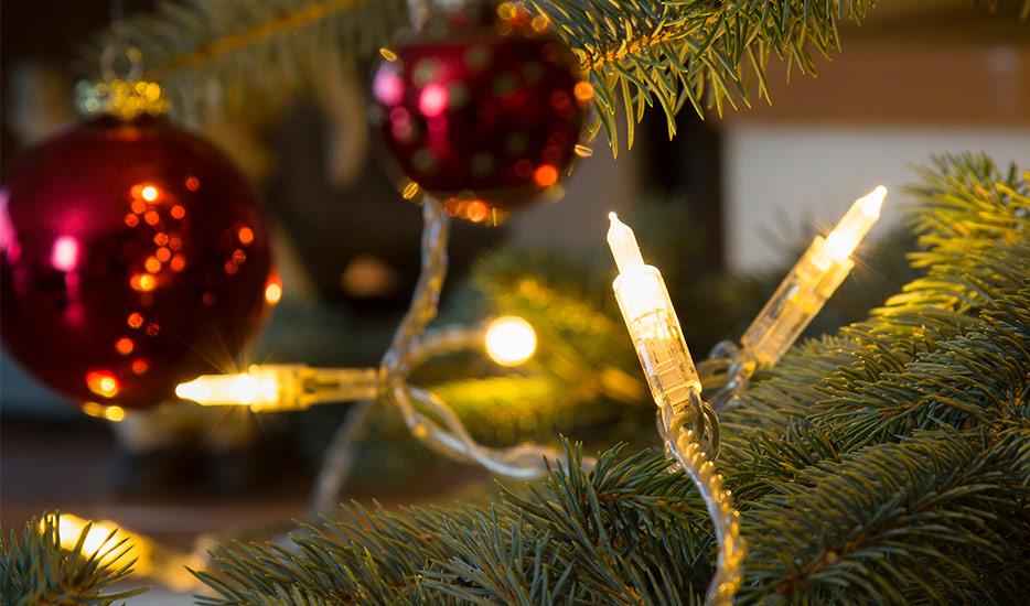 Ciepły biały łańcuch świetlny LED Mini 20-flg.