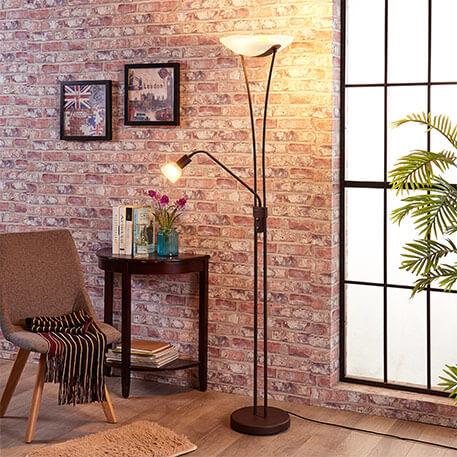 Ściemniana lampa LED oświetlająca sufit Felicja