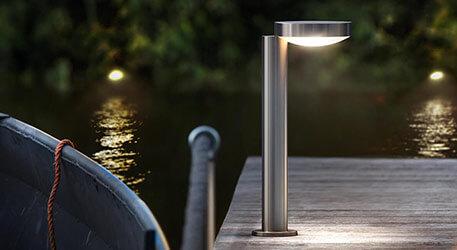 Lampy ogrodowe stojące LED