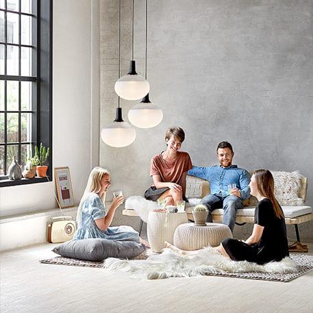 Lampy wiszące szklane