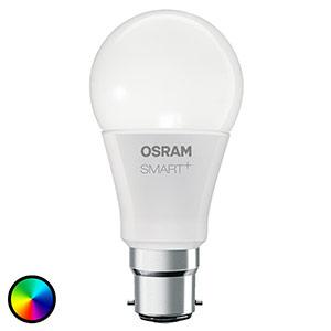 OSRAM SMART+ LED B22 10W RGBW 800lm dimmbar