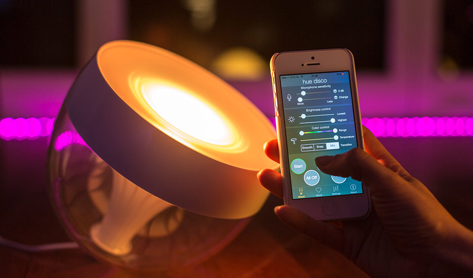 Lampa Iris Philips Hue, White + Color Ambiance