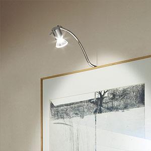 Wytworne oświetlenie obrazów MIRROR