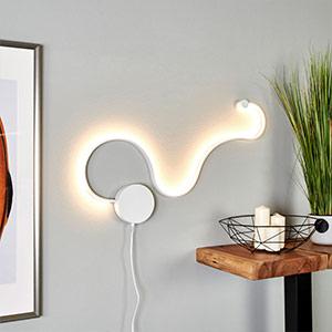 Ekstrawagancki kinkiet LED Sandor