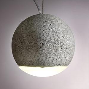 Lampa wisząca TRABANT 16 cm z matową soczewką