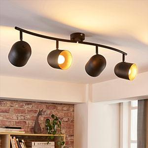 4-punktowy reflektor sufitowy LED Morik