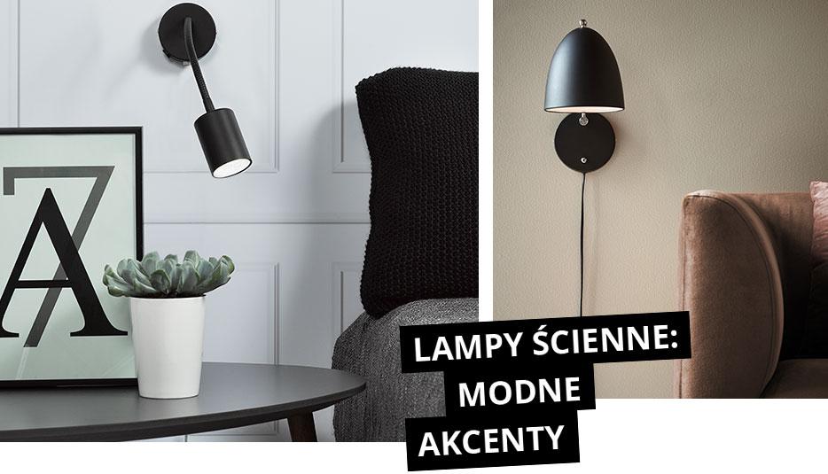 Lampy ścienne: modne stwierdzenia