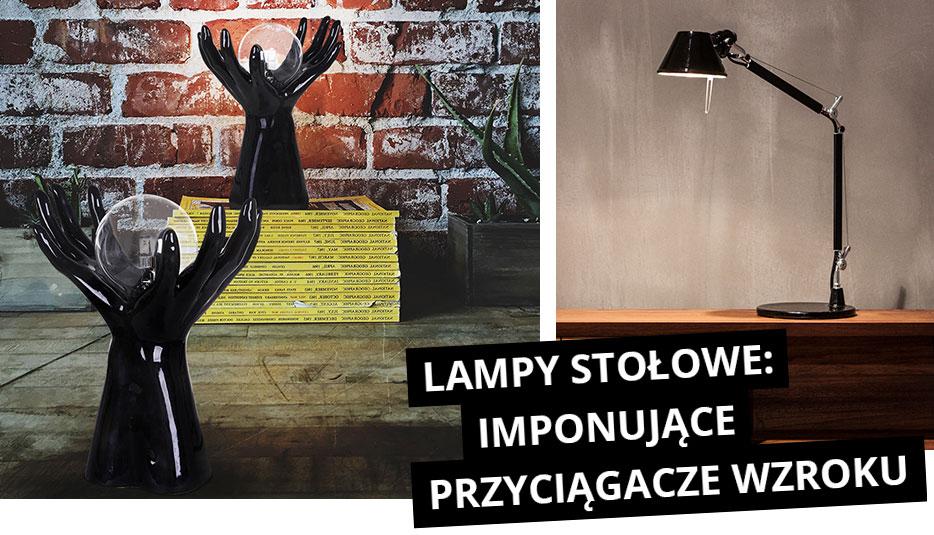 Lampy stołowe: imponujące i przyciągające wzrok