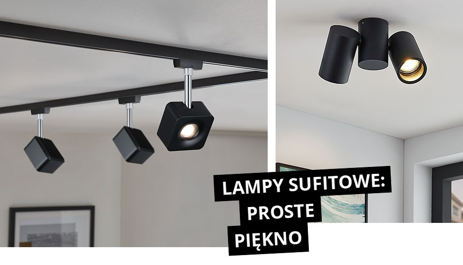 Lampy sufitowe: proste piękno