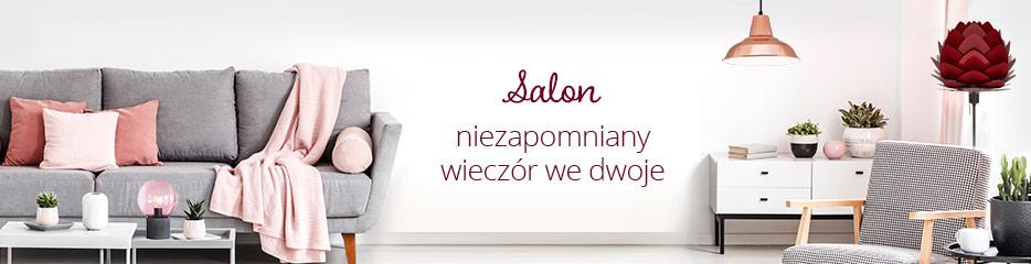 Salon - romantyczne światło gwarantuje wyjątkową randkę